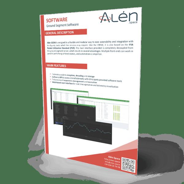 Alén Space Ground Segment Software